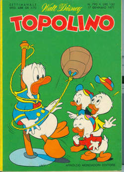 Copertina TOPOLINO LIBRETTO n.790 - TOPOLINO   790, WALT DISNEY PRODUCTION