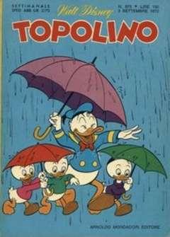 Copertina TOPOLINO LIBRETTO n.875 - TOPOLINO   875, WALT DISNEY PRODUCTION