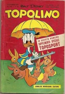 Copertina TOPOLINO LIBRETTO n.98 - TOPOLINO    98, WALT DISNEY PRODUCTION