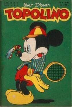Copertina TOPOLINO LIBRETTO n.4 - TOPOLINO     4, WALT DISNEY PRODUCTION
