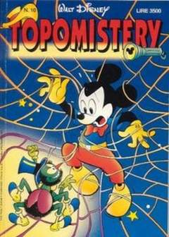 Copertina TOPOMISTERY n.10 - TOPOMISTERY                 10, WALT DISNEY PRODUCTION