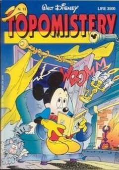 Copertina TOPOMISTERY n.13 - TOPOMISTERY                 13, WALT DISNEY PRODUCTION