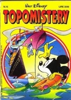 Copertina TOPOMISTERY n.15 - TOPOMISTERY                 15, WALT DISNEY PRODUCTION