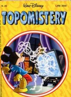 Copertina TOPOMISTERY n.25 - TOPOMISTERY                 25, WALT DISNEY PRODUCTION