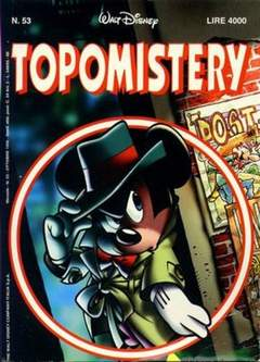 Copertina TOPOMISTERY n.53 - TOPOMISTERY                 53, WALT DISNEY PRODUCTION