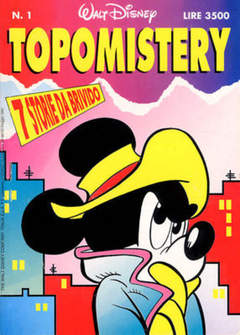 Copertina TOPOMISTERY n.1 - TOPOMISTERY                  1, WALT DISNEY PRODUCTION