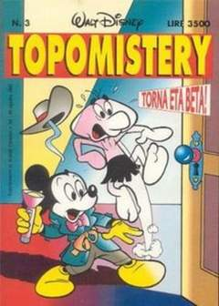 Copertina TOPOMISTERY n.3 - TOPOMISTERY                  3, WALT DISNEY PRODUCTION
