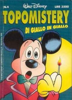 Copertina TOPOMISTERY n.4 - TOPOMISTERY                  4, WALT DISNEY PRODUCTION