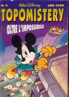 Copertina TOPOMISTERY n.5 - TOPOMISTERY                  5, WALT DISNEY PRODUCTION