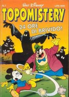 Copertina TOPOMISTERY n.7 - TOPOMISTERY                  7, WALT DISNEY PRODUCTION