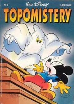Copertina TOPOMISTERY n.9 - TOPOMISTERY                  9, WALT DISNEY PRODUCTION