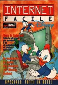 Copertina TUTTODISNEY n.10 - Internet facile Disney, WALT DISNEY PRODUCTION