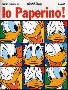 Copertina TUTTODISNEY n.1 - TUTTODISNEY                  1, WALT DISNEY PRODUCTION