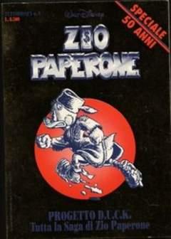 Copertina TUTTODISNEY n.9 - Zio Paperone Progetto D.U.C.K., WALT DISNEY PRODUCTION