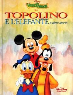Copertina VIDEO PARADE n.4 - Topolino e l'elefante e altre storie, WALT DISNEY PRODUCTION