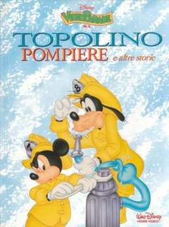 Copertina VIDEO PARADE n.3 - Topolino pompiere e altre storie, WALT DISNEY PRODUCTION