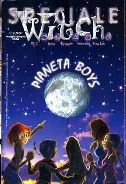 Copertina WITCH SPECIALI n.6 - Pianeta boys, WALT DISNEY PRODUCTION