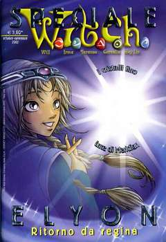 Copertina WITCH SPECIALI n.3 - Elyon ritorno da regina, WALT DISNEY PRODUCTION