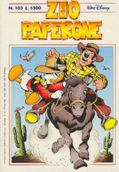 Copertina ZIO PAPERONE n.103 - ZIO PAPERONE      103, WALT DISNEY PRODUCTION