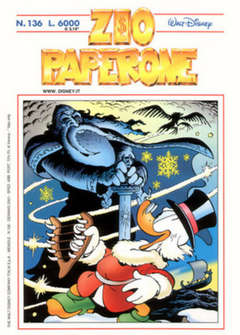 Copertina ZIO PAPERONE n.136 - ZIO PAPERONE      136, WALT DISNEY PRODUCTION