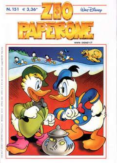 Copertina ZIO PAPERONE n.151 - ZIO PAPERONE      151, WALT DISNEY PRODUCTION