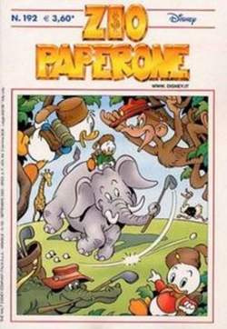 Copertina ZIO PAPERONE n.192 - ZIO PAPERONE      192, WALT DISNEY PRODUCTION