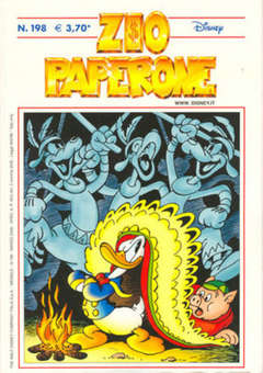 Copertina ZIO PAPERONE n.198 - ZIO PAPERONE      198, WALT DISNEY PRODUCTION