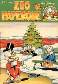 Copertina ZIO PAPERONE n.27 - ZIO PAPERONE                27, WALT DISNEY PRODUCTION