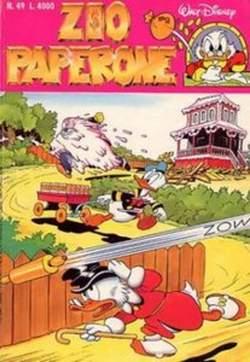 Copertina ZIO PAPERONE n.49 - ZIO PAPERONE                49, WALT DISNEY PRODUCTION