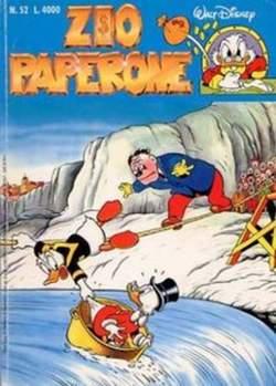 Copertina ZIO PAPERONE n.52 - ZIO PAPERONE                52, WALT DISNEY PRODUCTION