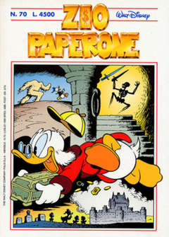 Copertina ZIO PAPERONE n.70 - ZIO PAPERONE                70, WALT DISNEY PRODUCTION