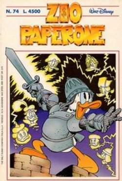 Copertina ZIO PAPERONE n.74 - ZIO PAPERONE                74, WALT DISNEY PRODUCTION