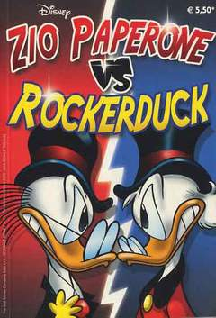 Copertina ZIO PAPERONE VS ROCKERDUCK n. - ZIO PAPERONE VS ROCKERDUCK, WALT DISNEY PRODUCTION