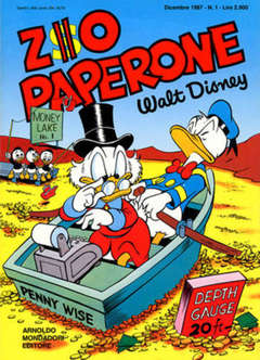 Copertina ZIO PAPERONE n.1 - ZIO PAPERONE        1, WALT DISNEY PRODUCTION