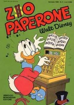 Copertina ZIO PAPERONE n.2 - ZIO PAPERONE        2, WALT DISNEY PRODUCTION