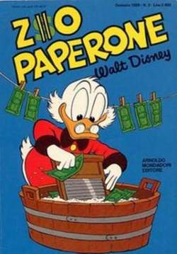 Copertina ZIO PAPERONE n.3 - ZIO PAPERONE        3, WALT DISNEY PRODUCTION