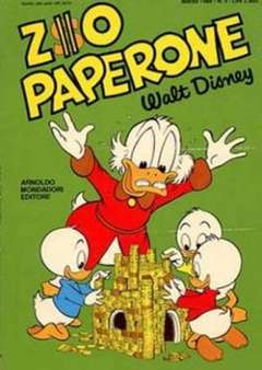 Copertina ZIO PAPERONE n.5 - ZIO PAPERONE        5, WALT DISNEY PRODUCTION