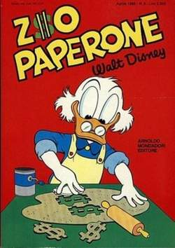 Copertina ZIO PAPERONE n.6 - ZIO PAPERONE        6, WALT DISNEY PRODUCTION