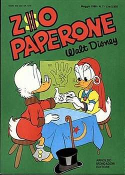 Copertina ZIO PAPERONE n.7 - ZIO PAPERONE        7, WALT DISNEY PRODUCTION