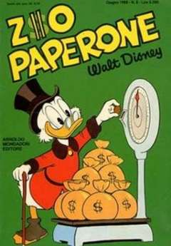 Copertina ZIO PAPERONE n.8 - ZIO PAPERONE        8, WALT DISNEY PRODUCTION
